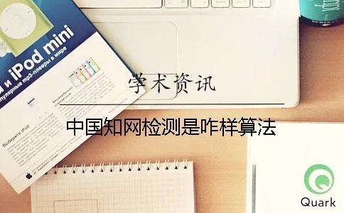 中国知网检测是咋样算法